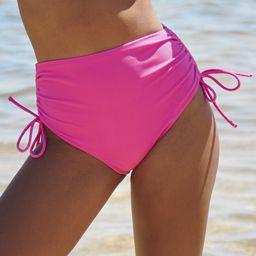 Paradise Pink High Rise Bikini Bottoms | Altar'd State