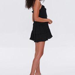 Ruffle-Trim Mini Dress | Forever 21 | Forever 21 (US)