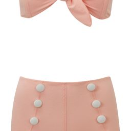 Poppy Button Two-Piece Swimsuit | Nordstrom