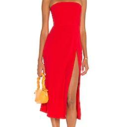 Mandy Midi Dress                                          Amanda Uprichard   Revolve Clothing (Global)