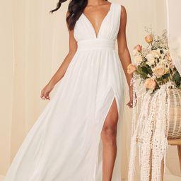 Heavenly Hues White Maxi Dress | Lulus (US)