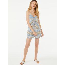 Scoop Women's Printed Smock Waist Shorts   Walmart (US)