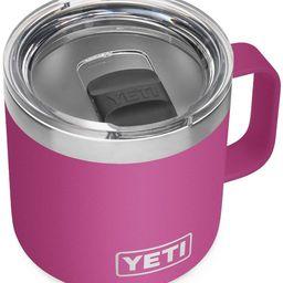 YETI Rambler 14 oz Mug, Vacuum Insulated, Stainless Steel with MagSlider Lid | Amazon (US)