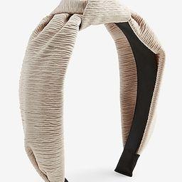 Textured Knot Headband   Express