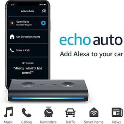 Echo Auto- Hands-free Alexa in your car with your phone   Amazon (US)