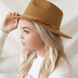 Teak Zulu Brown Wool Fedora Hat   Lulus (US)