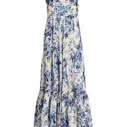Aliane Tie-Shoulder Cotton Midi Dress   Saks Fifth Avenue