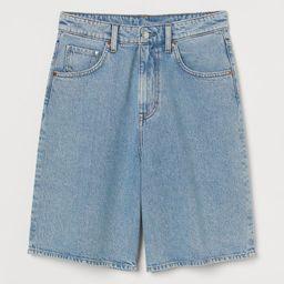 Wide Bermuda High Waist Shorts | H&M (DE, AT, DK,  HU, NL, NO, FI, PO, SE)