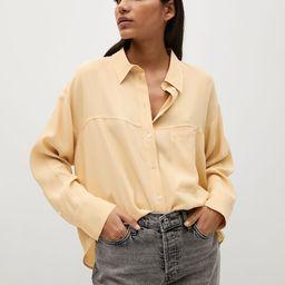 Fließendes Oversized-Hemd | MANGO (DE)