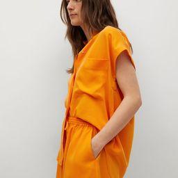 Shorts aus 100 % Lyocell | MANGO (DE)