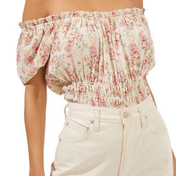 Floral Convertible Neck Bodysuit | Nordstrom