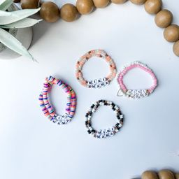 Mama & Mini Sets- Personalized Beaded Name Bracelets/ Customized Word Bracelet/ Name Bracelet/ De...   Etsy (US)