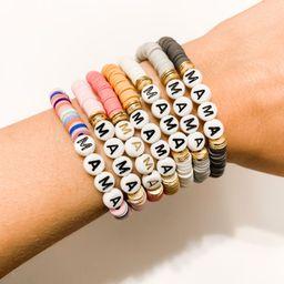 HEISHI Disc Bracelets- Personalized Beaded Name Bracelets/ Customized Word Bracelet/ Name Bracele...   Etsy (US)