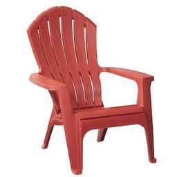 RealComfort Chili Patio Adirondack Chair   The Home Depot