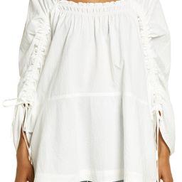 Brynn Puff Long Sleeve Tunic Dress | Nordstrom