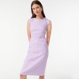 Resume dress in stretch linen | J.Crew US
