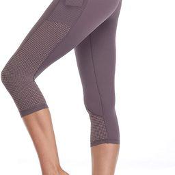 RAYPOSE Women's Workout Running Capris Leggings Pocket Tummy Control High Waist Yoga Pants | Amazon (US)