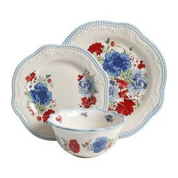 The Pioneer Woman Classic Charm Dinnerware Set, 12-Piece Set | Walmart (US)