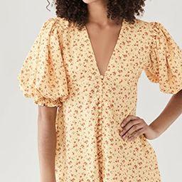 Button Front Mini Dress | Shopbop