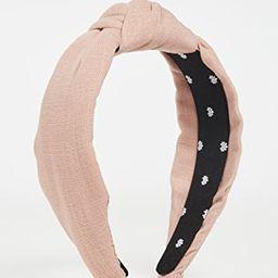 Linen Knotted Headband | Shopbop