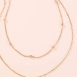 Minimalist Layered Necklace | SHEIN
