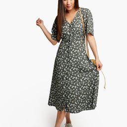 Amelia Button Front Dress -                $130or 4  payments of $32.50 by  ⓘ   Live Fashionable