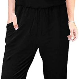 ANRABESS Women's Loose Casual Off Shoulder Elastic Waist Stretchy Long Romper Jumpsuit with Pocke...   Amazon (US)