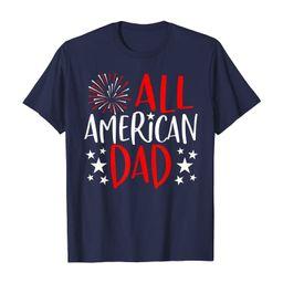 Mens 4th of July Family Matching Shirts All American Dad TShirt T-Shirt | Amazon (US)