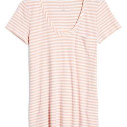 Rounded V-Neck T-Shirt   Nordstrom