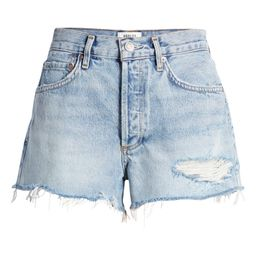 Parker Distressed Organic Cotton Cutoff Denim Shorts   Nordstrom