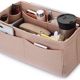 Felt Purse Organizer, Bag in Bag Organizer For Tote & Handbag Speedy Neverfull, Medium Large Extr... | Amazon (US)