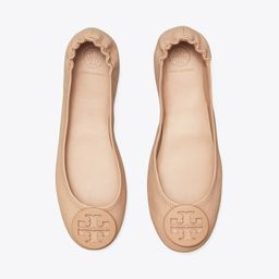 Minnie Travel Ballet Flat, Leather | Tory Burch (US)