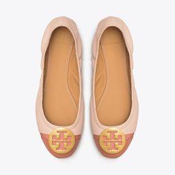 Minnie Patent Cap-Toe Ballet Flat | Tory Burch (US)