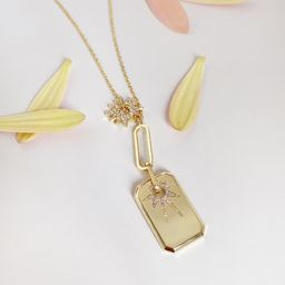 Sunlit Gold Necklace | Wanderlust + Co
