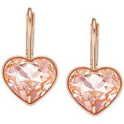 Crystal Bella Heart Drop Earrings | Macys (US)