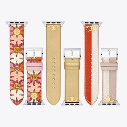 Band for Apple Watch® Gift Set, Multi-Color Leather, 38 MM – 40 MM | Tory Burch (US)