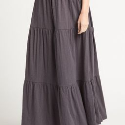 Tiered Maxi Skirt | Evereve