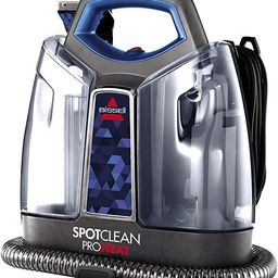 BISSELL SpotClean ProHeat Portable Spot and Stain Carpet Cleaner, 2694, Blue   Amazon (US)