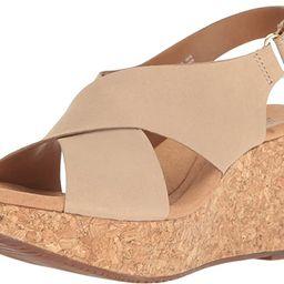 Clarks Women's Annadel Eirwyn Wedge Sandal   Amazon (US)