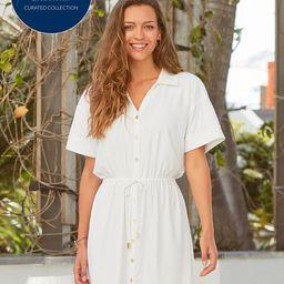 AWL x CL White Shirt Dress | Cabana Life