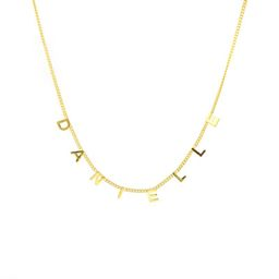 Custom Curb Name Necklace | The Sis Kiss