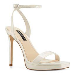 Nine West Zadie Women's Platform High Heel Sandals, Size: 10, White | Kohl's