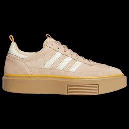 adidas Super Sleek 72 - Women's Sneakers - Ash Pearl / Off White / Crew Orange, Size 11.0   Eastbay