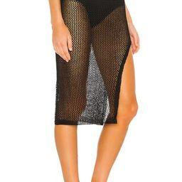 Odessa Slit Midi Skirt                                          superdown | Revolve Clothing (Global)