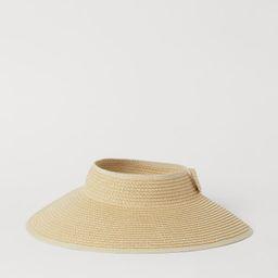 Straw Sun Visor | H&M (US)