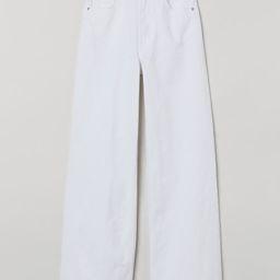 Wide-leg Twill Pants | H&M (US)