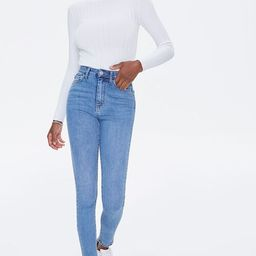High-Rise Skinny Jeans | Forever 21 (US)
