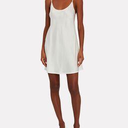 Silk Mini Slip Dress | INTERMIX