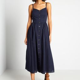 Quite Clearly Charismatic Midi Dress   ModCloth