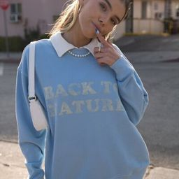 Back to Nature Graphic Sweatshirt | Forever 21 (US)